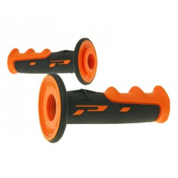 handlebar grip set ProGrip 797 MX black, orange