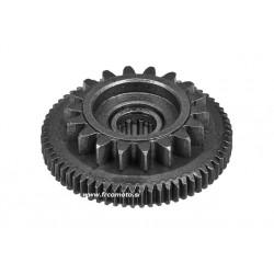 Starter drive gear TEC 18/65 for Minarelli