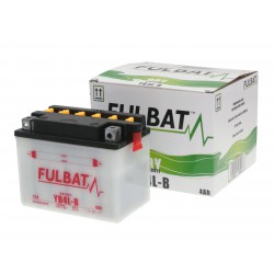 Battery Fulbat YB4L-B DRY incl. acid pack