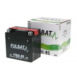 Battery Fulbat YTX5L-BS MF maintenance free