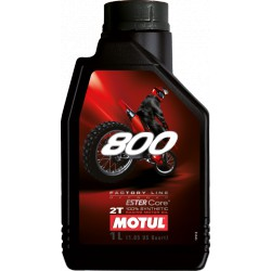 Oil Motul 800 - Off Road Ester Core Racing Oil - 2T