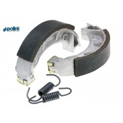 Brake shoe set  90x18 Polini for Tomos A3 , A35 , Piaggio Ciao , Si , Bravo , Free