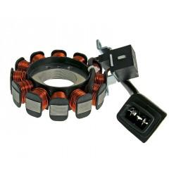 Alternator stator for Piaggio 4-stroke 2V