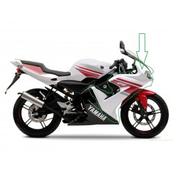 Yamaha TZR 50ccm - body front , upper , white -right