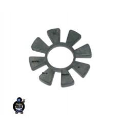 Rubber rear wheel Tomos 15SL , E90 , BT , NTX