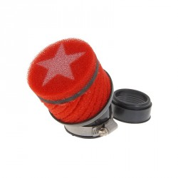 Zračni filter  Stage6, kratek, rdeč, - 44mm