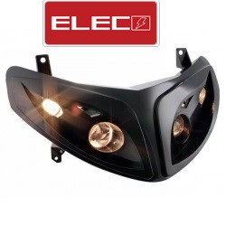 Sprednja luč -ELEC - Peugeot Speedfight 2- Black H4