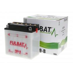 Battery Fulbat YB9-B DRY incl. acid pack