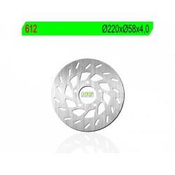 NG kočioni disk 612- GILERA Runner  50, 125, 180, NRG MC2, SR Motard 12