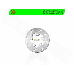Kočioni disk NG 366  Gilera Runner 50 ,Zip,Zip II  , NRG , Derbi GP1