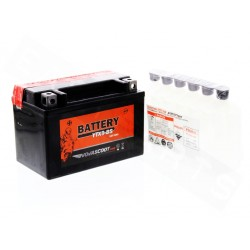 Battery NOVASCOOT YTX9-BS 12V-8Ah MF (maintenance free, with acid)