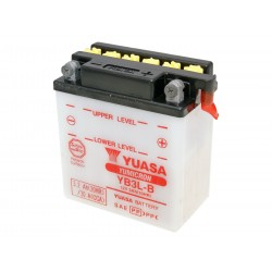 Battery Yuasa YuMicron YB3L-B w/o acid pack