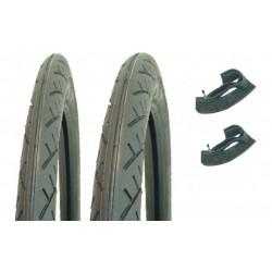 Set pnevmatik -  2.25 X 17 Slick - Deestone D798