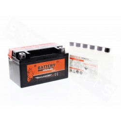 Battery NOVASCOOT YTX7A-BS 12V-6Ah MF (maintenance free, with acid)