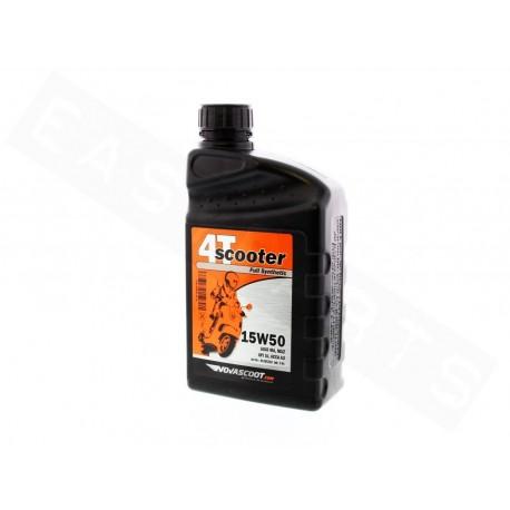 Olje 4T - NOVASCOOT 15W50 Full-Synthetic 4T 1L (Piaggio 350)