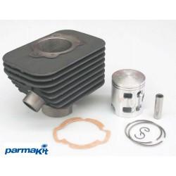 Cilinder kit Parmakit- 68ccm -6TR - 12 sornik - Piaggio Ciao , Bravo ,Eco , SuperBravo