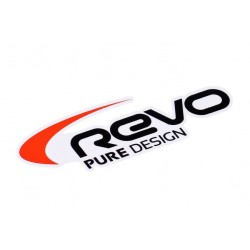 Sticker Revo 89x30mm Black