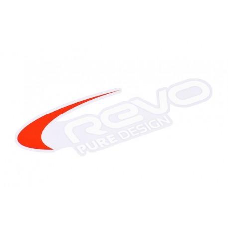 Nalepka Revo 89x30mm, bela