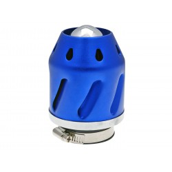 Air filter Grenade blue straight version 35/48mm carb connection (adapter)