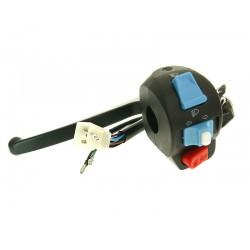 Left handle switch assy with brake lever  -Baotian,Jonway,Motofino,Nova Motors,Znen