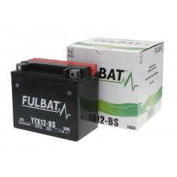 Battery Fulbat YTX12-BS MF maintenance free