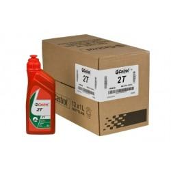 Set olja - Castrol 2T, karton, 12x1 litr