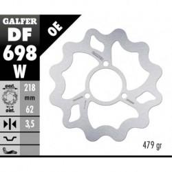 Kočioni disk - Galfer WAVE - Derbi DRD 50 ,Senda 50 - 125cc / Yamaha DT 50-125 , XT 125
