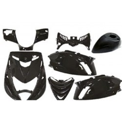 Body kit 4Tune Piaggio Zip SP 2001- 2014 ( 7 pcs  ) Black