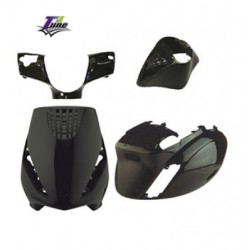 Body kit 4Tune Piaggio Zip 50 2T/ 4T ( 4 pcs ) -Crni