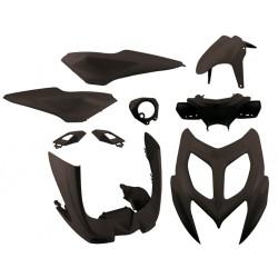 Body kit 4Tune Black Yamaha Aerox 50R 2013 - 2016 ( 9 pcs )