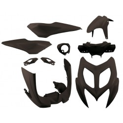 Body kit 4Tune Black Yamaha Aerox 50R 2013 - 2016 ( 9 pcs)