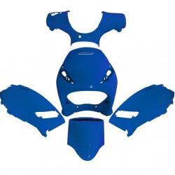 Set plastik plave - Piaggio Zip - 5 kom