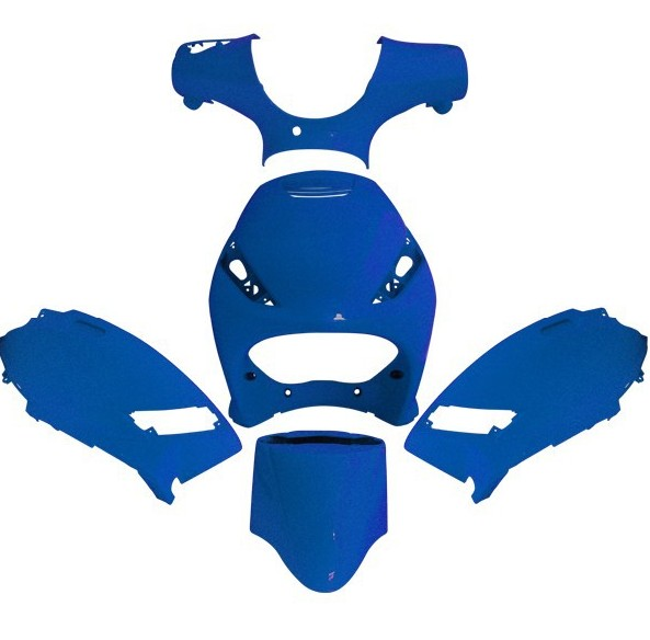 body kit piaggio zip - blue -5pcs - frčo moto trgovina
