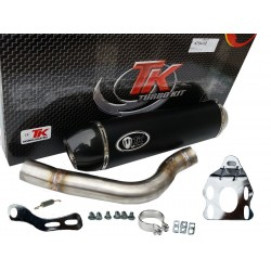 Exhaust Turbo Kit Road GC Oval Carbon KTM LC4 690 SM 2006-2009