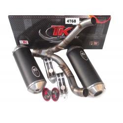 Exhaust Turbo Kit Road GC Oval -Suzuki GSX-R1000 07-09 (E)