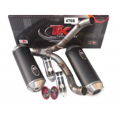 Izpuh Turbo Kit Road GC Oval -Suzuki GSX-R1000 07-09 (E)