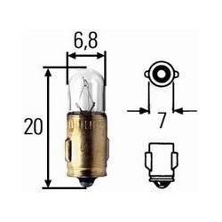 Žarnica 6V 1.5W  Ba7s
