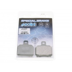 Brake pads Polini organic for Aprilia RS , CPI GTR , Peugeot Speedfight 3