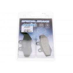 Brake pads Polini organic for Aprilia Gilera MBK Yamaha