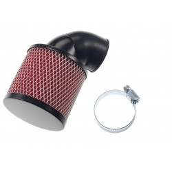 Air filter 28- 35 mm / 0 -90 -RED