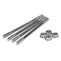 Cylinder studs set TEC Gilera LC / Piaggio LC / Minarelli Vertical