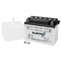 Akumolator YB4L-B Elektra 12V 4Ah - d:121x71x93mm
