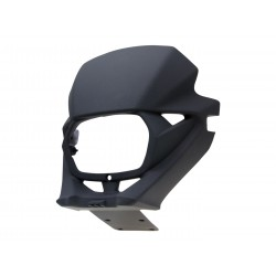 Prednje svjetlo fairing OEM crna/i za Malaguti XTM, XSM, Yamaha DT 50