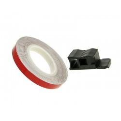 Traka felge / kotač stripe 7mm - crvena/i - 600cm