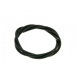 oil / vacuum hose CR black 1m - 2.5x5mm