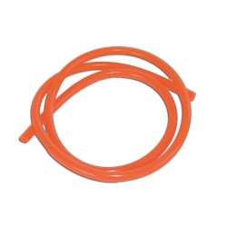 Fuel hose 1m orange