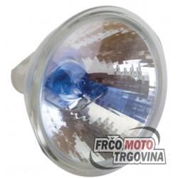 Lamp dichroic Xenon 12V 20W MR 16 - 50mm Blue