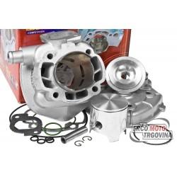 Cilinder kit - Italkit Alu 70cc - Minarelli Horizontal - 10 sorni