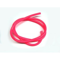 Fuel hose Neon pinky 1m
