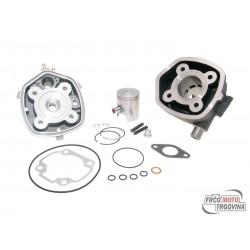 Cilinder kit Polini cast iron Sport 50cc  Minarelli horizontal LC